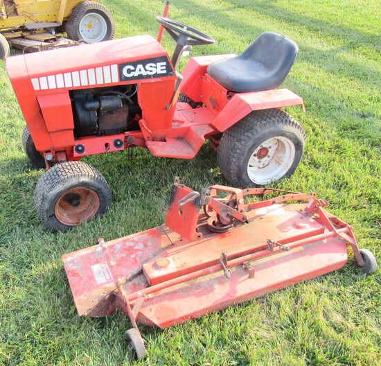 Case 222 Hydriv Garden Tractor with Belly Mower. Non Running.