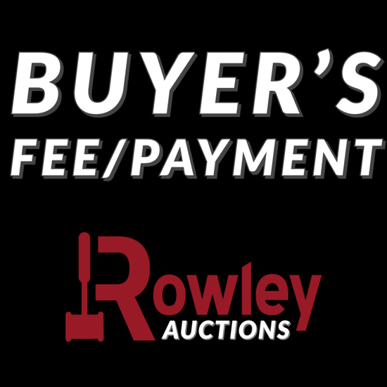 BUYER'S FEE/PAYMENT