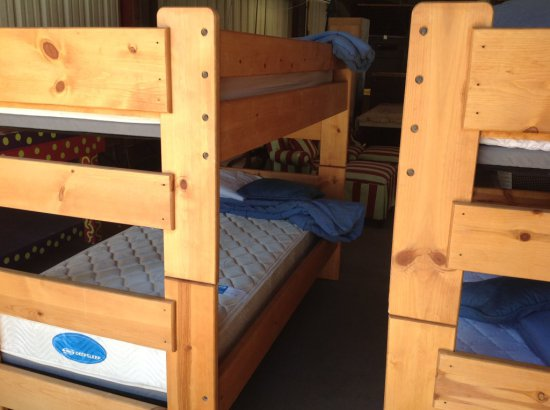 BUNK BED SET WITH SIMMONS DEEPSLEEP MATTRESSES
