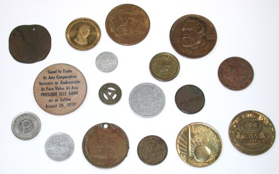 16 OLD TOKENS