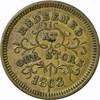 1863 MERCHANT TOKEN - ROBINSON & BALLOU, TROY, NY