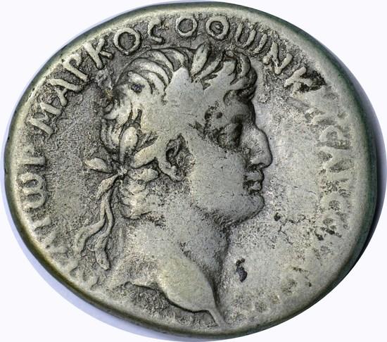 ANCIENT ROME - OTHO TETRADRACHM - AD 69