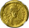 EAST. ROMAN EMPIRE - ZENO 1 GOLD AV SOLIDUS - 474-491 AD - NGC CHOICE AU
