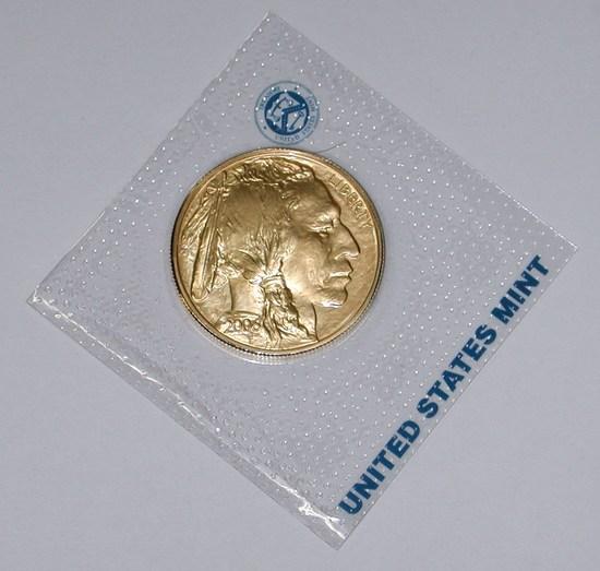 2006 ONE OUNCE $50 GOLD BUFFALO in CELLO