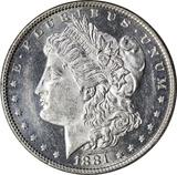 1881-O MORGAN DOLLAR - UNCIRCULATED