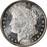 1881-O MORGAN DOLLAR - UNCIRCULATED - PROOFLIKE