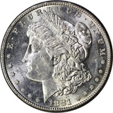 1881-S MORGAN DOLLAR - UNCIRCULATED
