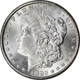 1882-CC MORGAN DOLLAR - UNCIRCULATED