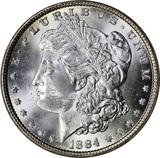 1884 MORGAN DOLLAR - UNCIRCULATED