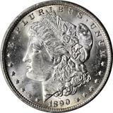 1890-O MORGAN DOLLAR - UNCIRCULATED