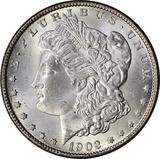 1902-O MORGAN DOLLAR - UNCIRCULATED