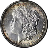1904 MORGAN DOLLAR - UNCIRCULATED