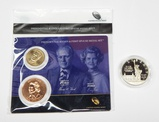 1986 ELLIS ISLAND PROOF SILVER DOLLAR + GERALD FORD $1 and MEDAL