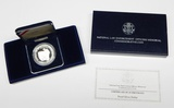 1997 NATIONAL LAW ENFORCEMENT PROOF SILVER DOLLAR in BOX