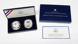 2001 AMERICAN BUFFALO TWO-COIN PROOF & UNC COMMEMORATIVE SET