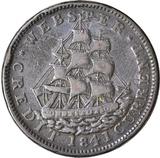 1841 WEBSTER HARD TIMES TOKEN