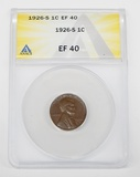 1926-S LINCOLN CENT - ANACS EF40
