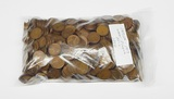 1,000 WHEAT CENTS from 1909 VDB to 1919