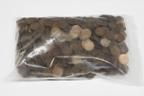 1,000 WHEAT CENTS from the 1920's