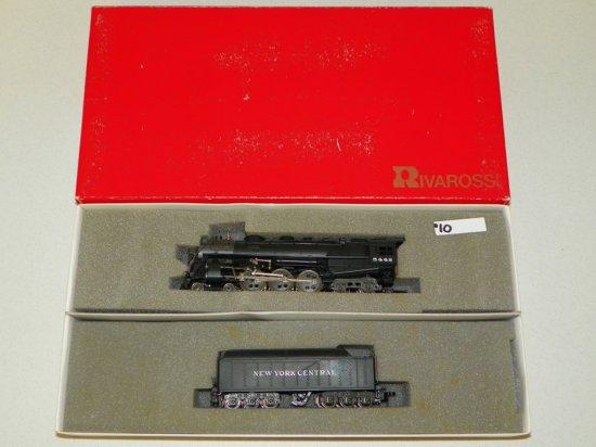 HO Rivarossi #1582 New York Central 4-6-4 Hudson Steam Engine No.5442 w/OB