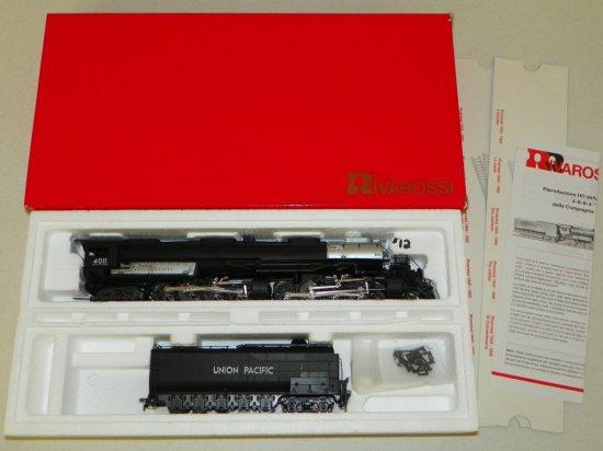 HO Rivarossi #5418 Union Pacific 4-8-8-4 Big Boy No.4011 w/OB