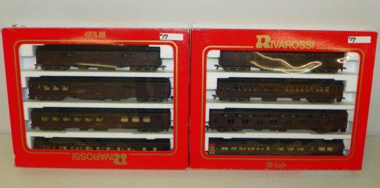 HO Rivarossi #6886/6887 Canadian Pacific 8-Car Passenger Set w/OBs