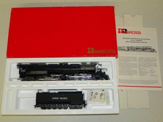 HO Rivarossi #1586 Union Pacific 4-8-8-4 Big Boy No.4006 w/OB