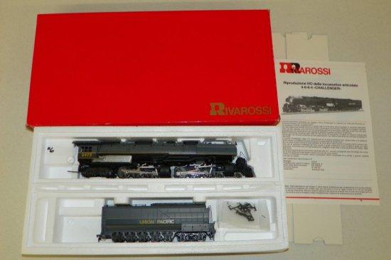 HO Rivarossi #1592 Union Pacific 4-6-6-4 Challenger No.3979 w/OB
