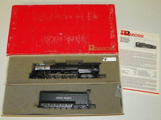 HO Rivarossi #1578 Union Pacific 4-8-4 FEF-3 Steam Engine No.841 w/OB