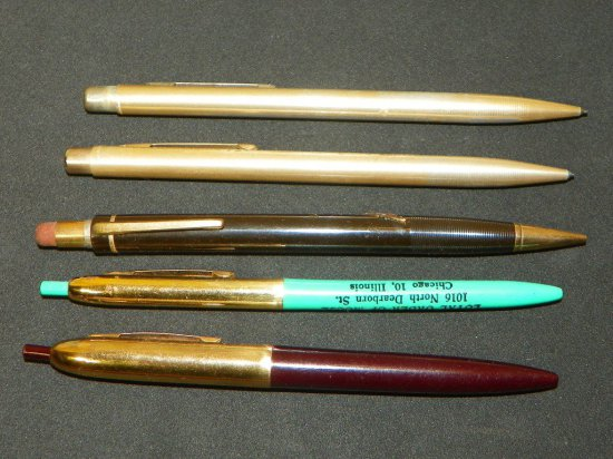 Group of Vintage Advertising Pens/Pencils