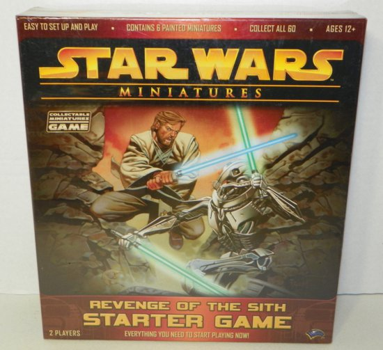 Star Wars Miniatures Revenge of the Sith Starter Game Sealed