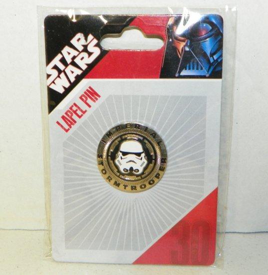 Star Wars Imperial Stormtrooper Lapel Pin