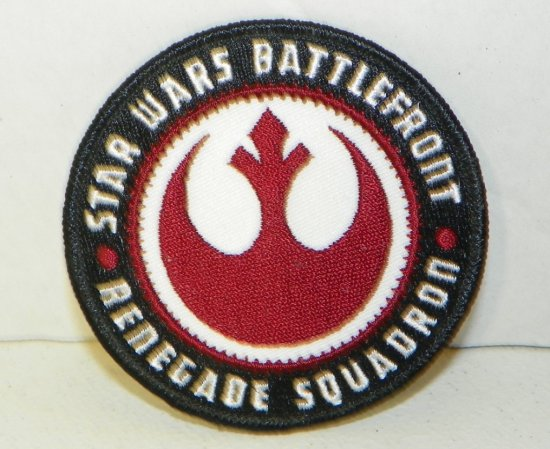 Star Wars Battlefront Renegade Squadron Patch, Con Exclusive