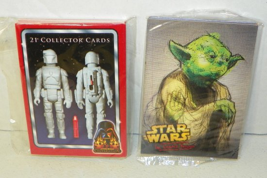 Star Wars Celebration Exclusive Collector Cards & Holographic Promo Card Set