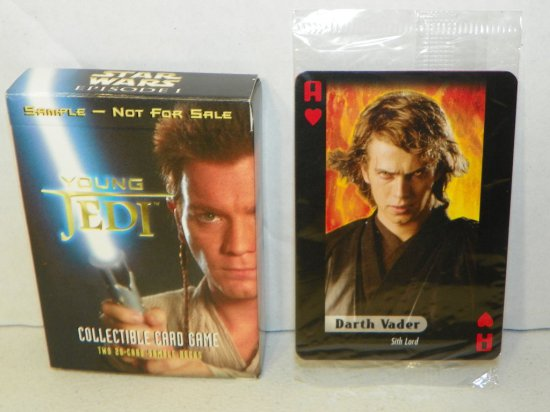 Star Wars Con Exclusive Sample Card Game & 2-Card Pack