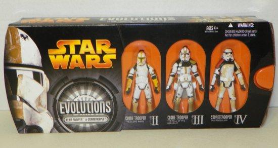 Star Wars Evolutions Clone Trooper to Stormtrooper Box Set