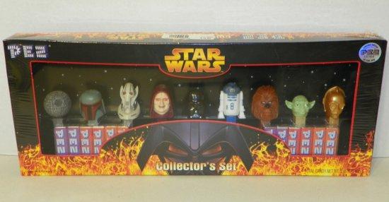 Star Wars Pez Dispenser Collector Box Set