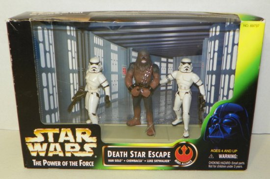 Star Wars POTF Death Star Escape Figures Box Set