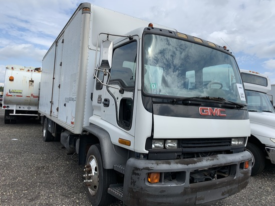 2000 GMC T6500 box truck