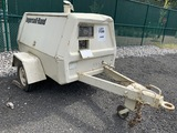 Ingersoll Rand tow behind compressor