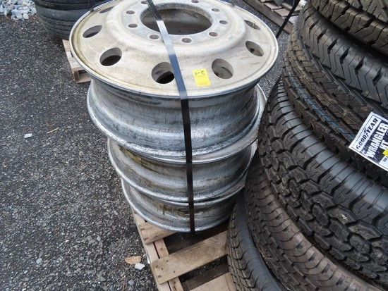 Misc Lot of truck tires and rims