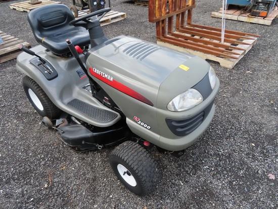 Craftsman LT2000 Mower