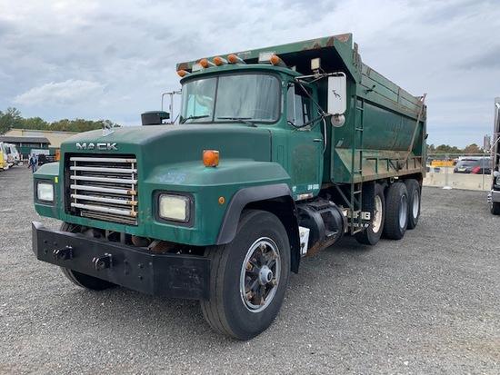 1998 Mack RD686S Tri-Axle Dump