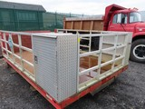 11ft Rack body with lift gate
