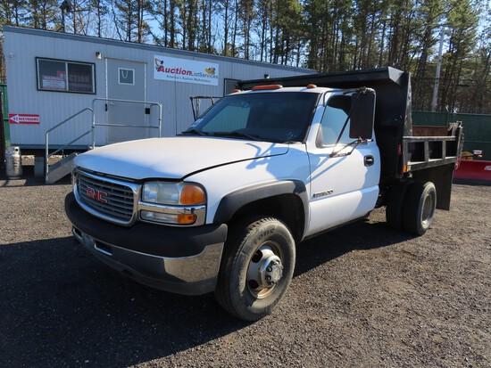 2001 GMC 3500 Mason Dump