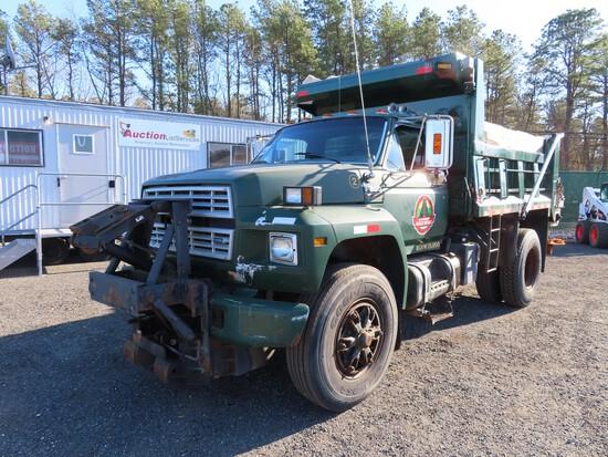 1993 Ford F800 Single Axle Dump