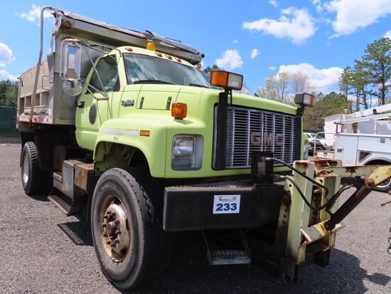1996 GMC Top Kick Single Axle Dump