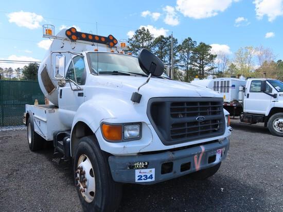 2001 F-750 Sewer Rodder Truck