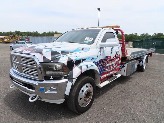 2012 Ram 4500 Roll Back Tow Truck