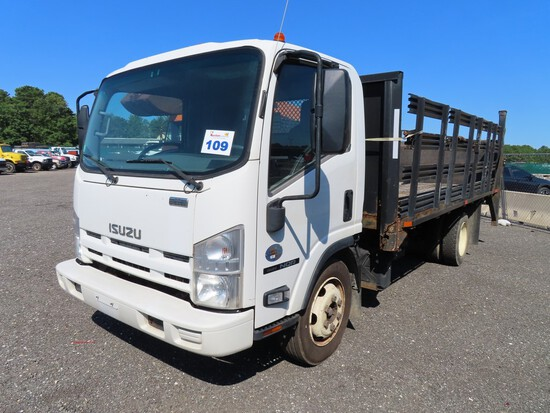 2013 Isuzu NQR Rack Truck w/ Lift Gate